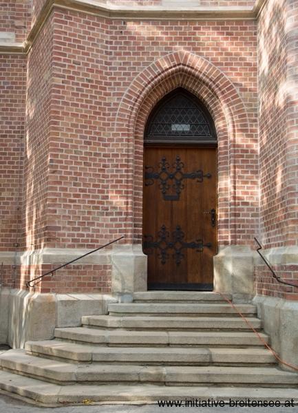 Eingang zur Sakristei (Foto: Fröschl)