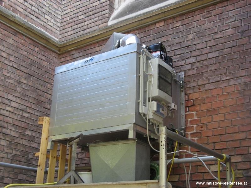 In der Klimakammer wurden thermische und hygrische Beanspruchungen des Mauerwerks simuliert. (Foto: Baier)