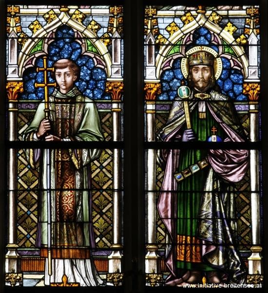 König Stephan I. von Ungarn mit Diakon (Foto: Stöcher)
