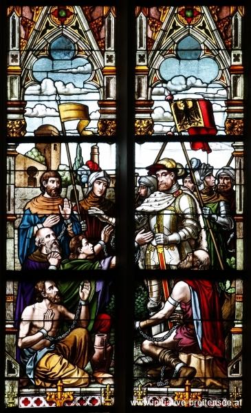 Kaiser Karl V. befreit gefangene Christen in Tunis (Foto: Stöcher)