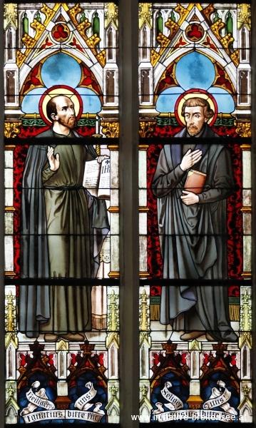 Ignatius von Loyola und Petrus Canisius (Verteidigung des Glaubens; Foto: Stöcher)