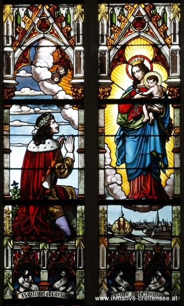 Kaiser Leopold I. betet zu Maria für seine Residenzstadt Wien (Foto: Stöcher)